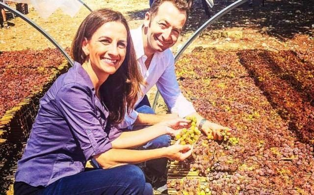 ©all copyright reserved by Firriato - monique soltani e federico lombardo di monte iato 640x398 - Monique Soltani visits Firriato Winery: the first format shot in Sicily on Wine OH TV streaming channel