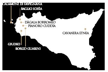 Mappa Sicilia - Trapani
