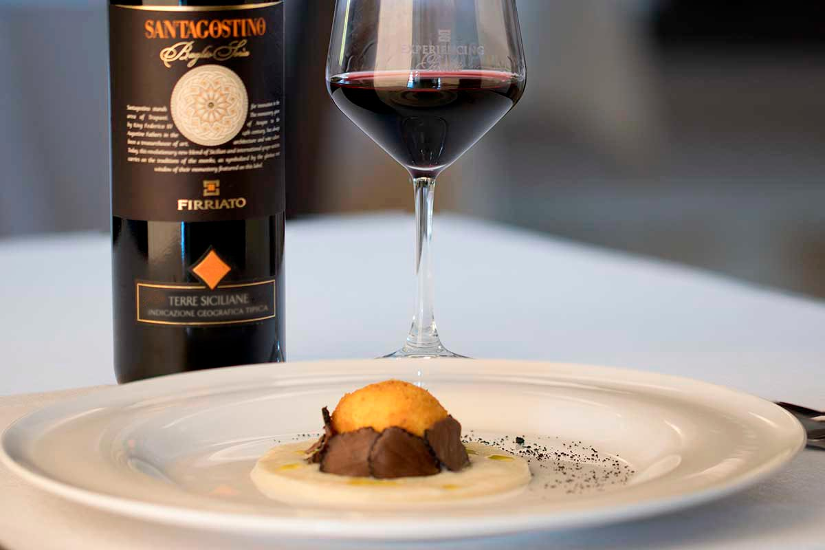 ©all copyright reserved by Firriato - Santagostino rosso e uovo al profumo di terra 2 - Santagostino Rosso