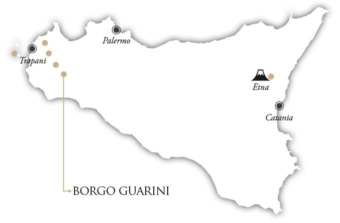 ©all copyright reserved by Firriato - mappa guarini - L'Ecrù