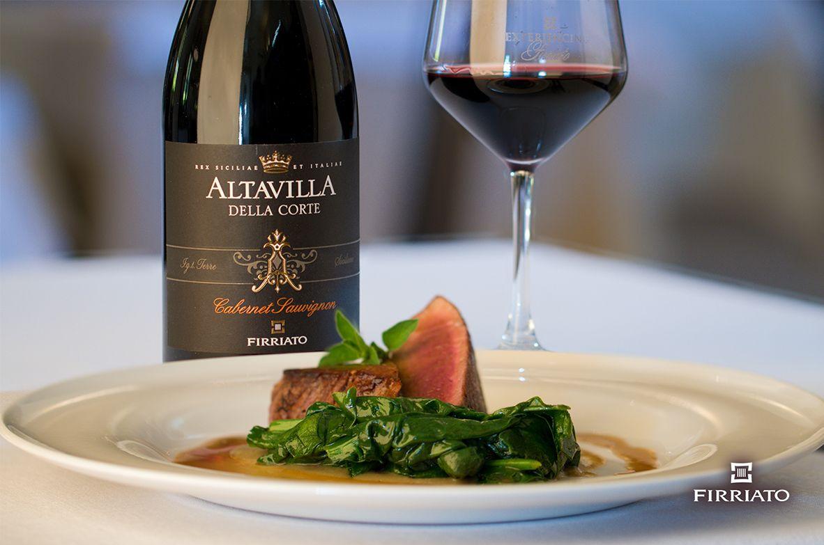 ©all copyright reserved by Firriato - Altavilla della Corte e filetto di manzo  - Carne e vini, gli abbinamenti consigliati da Firriato
