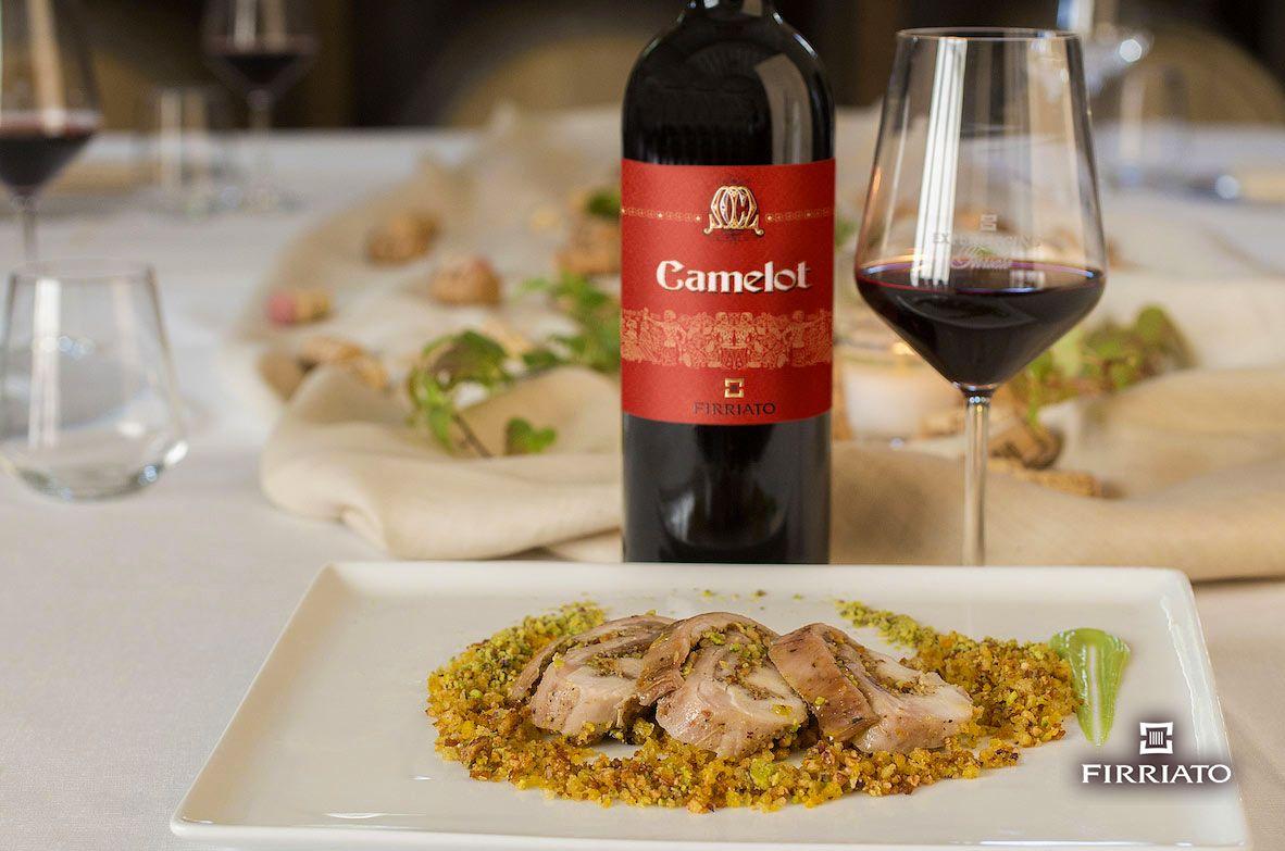 ©all copyright reserved by Firriato - Camelot e Sella di coniglio farcita - Carne e vini, gli abbinamenti consigliati da Firriato