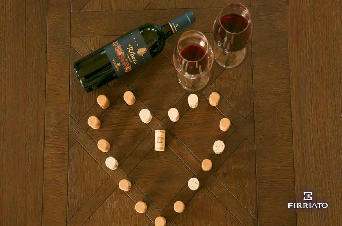 ©all copyright reserved by Firriato - SAN VALENTINO - Consigli sul vino a San Valentino, per una notte indimenticabile