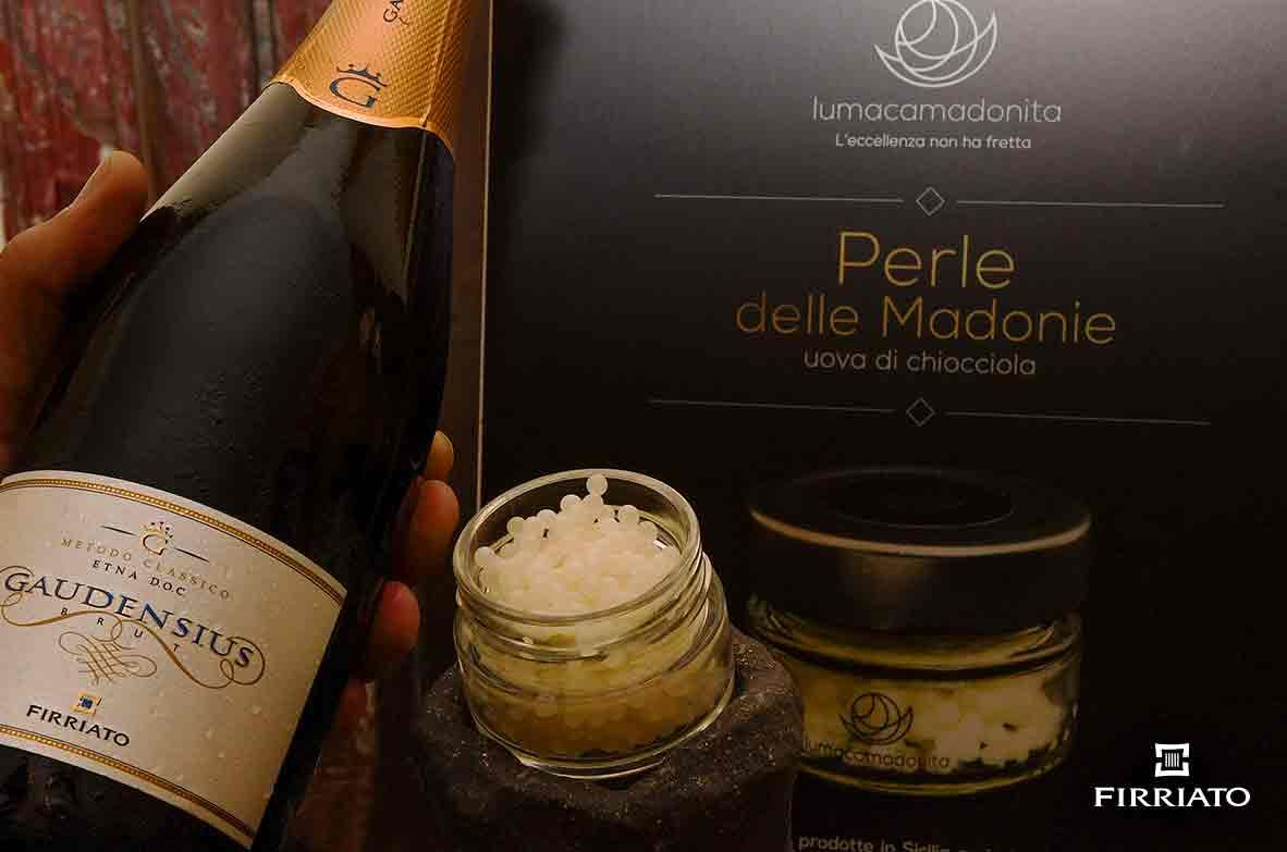 ©all copyright reserved by Firriato - Caviale di Lumaca Gaudensius BdN - Cinque primizie siciliane da accoppiare ai vini di Firriato