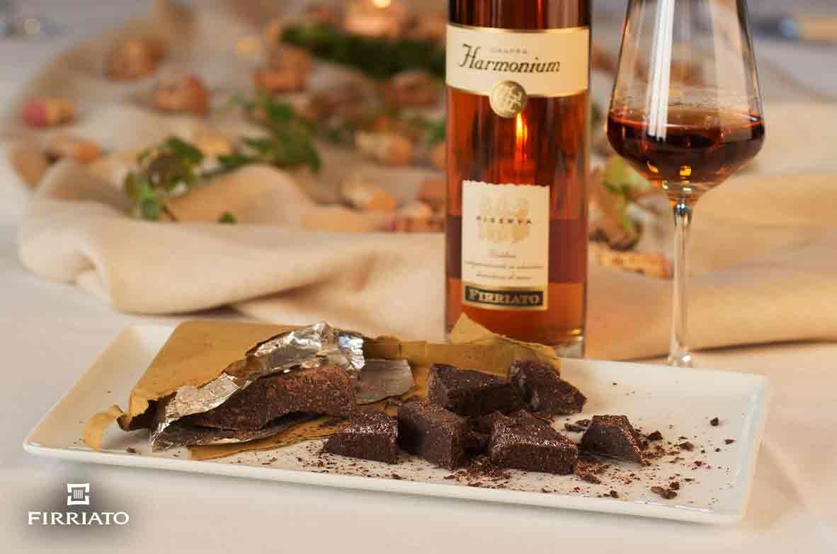 ©all copyright reserved by Firriato - Cioccolato Grappa Harmonium - Cinque primizie siciliane da accoppiare ai vini di Firriato