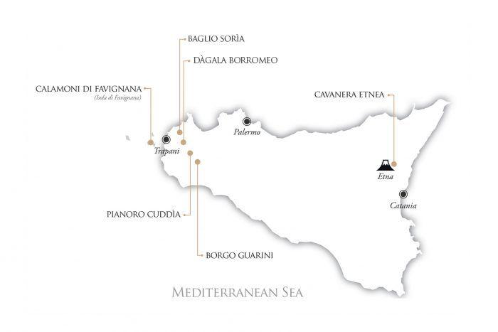 ©all copyright reserved by Firriato - mappa sicilia 1 700x467 - Mondo Firriato